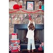 North Pole Christmas Printable Advent Calendar Mittens - Instant Download